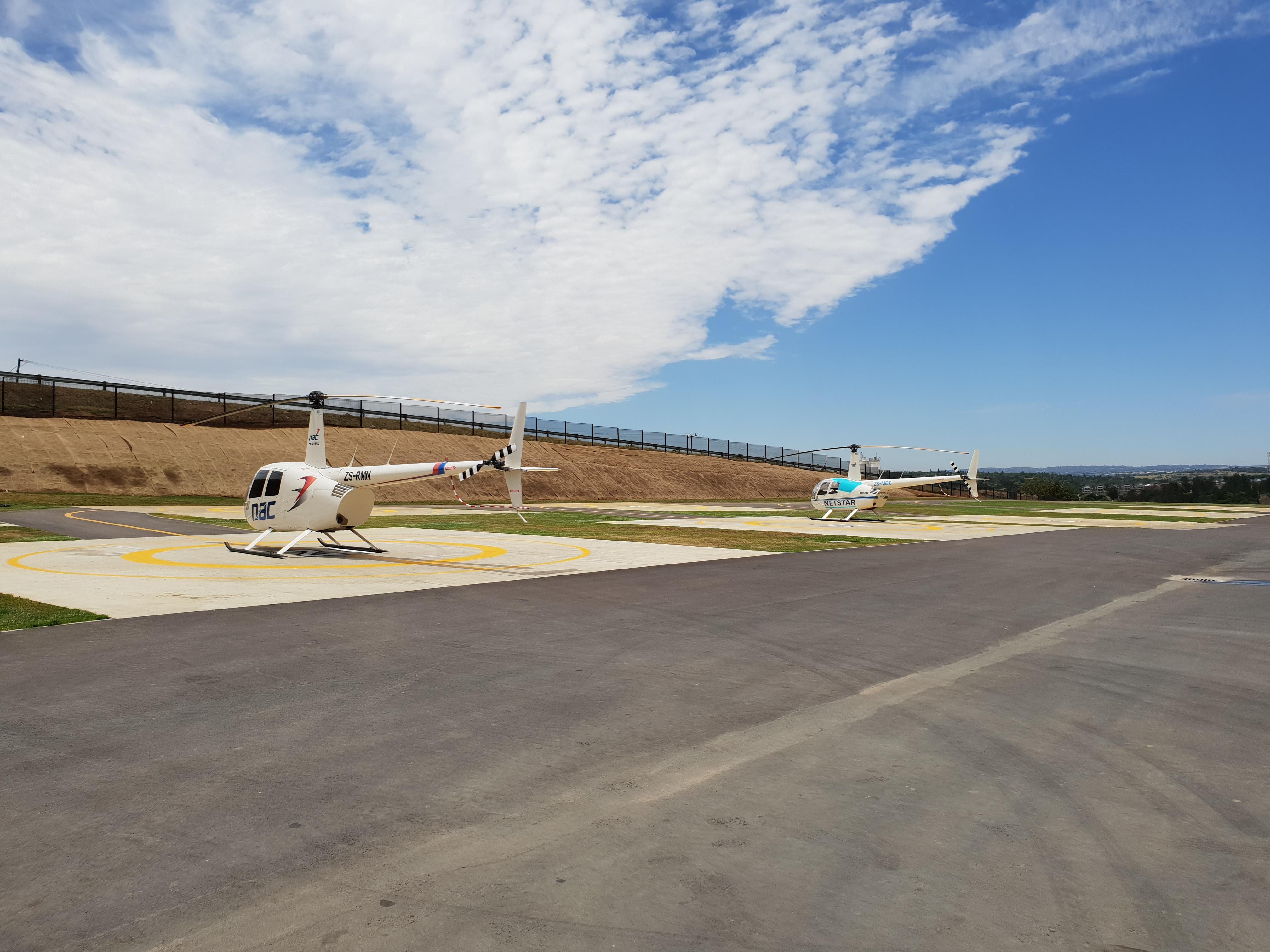 R44 Simulator Delivery