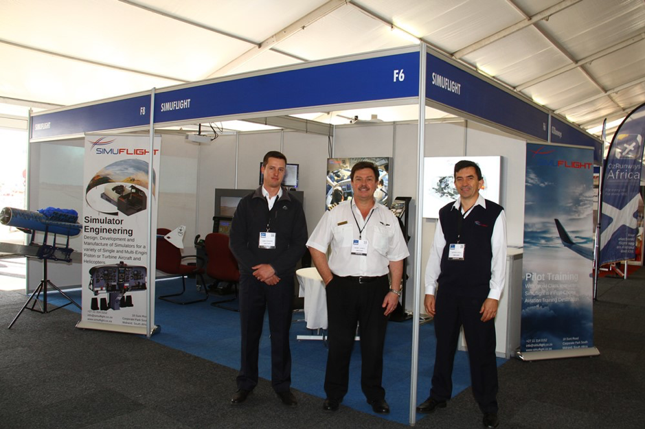 Simuflight at AERO South Africa 2019