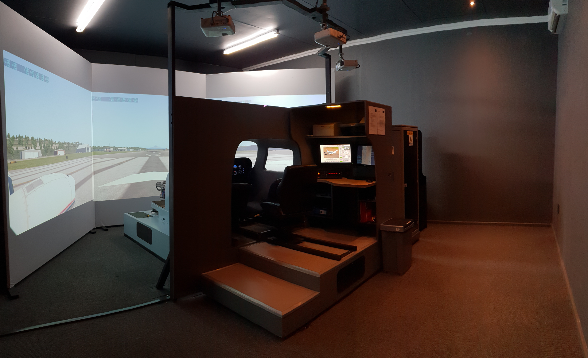 Seneca III Simulator Delivery- Vereeniging