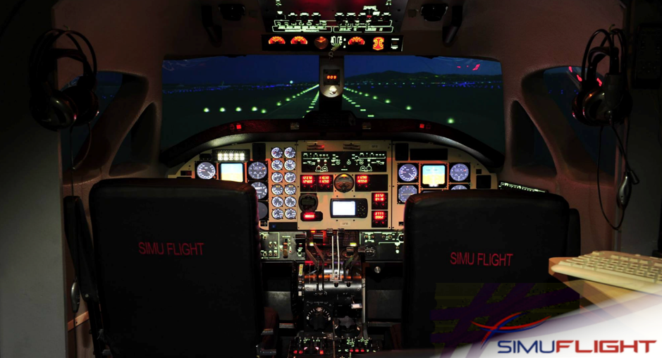 What are the benefits of simulation in flight training?